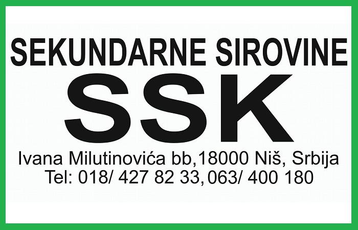 SEKUNDARNE SIROVINE SSK